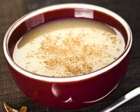Soupe pomme cannelle vanille