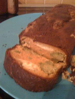 Cake brocolis chèvre3