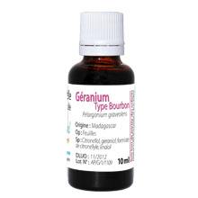 Huile essentielle géranium bourbon