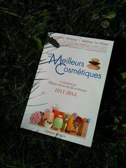 Couverture guide meilleur cosmétique 2011 2012