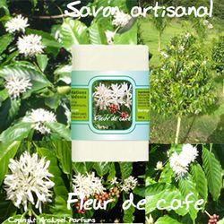 Savon fleur de café montage fleurs