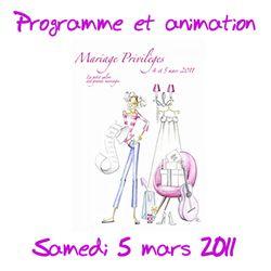 Mariage privilège animation