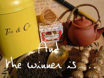 Giveaway tea et cie