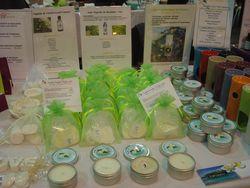 Bougies artisanales et parfums solides