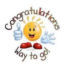 Logo félicitations